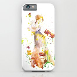 Woman's Abstract - Fall iPhone Case