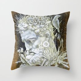 The Cost of Wisdom Throw Pillow