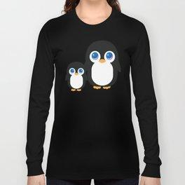 Adorable Penguins Long Sleeve T-shirt