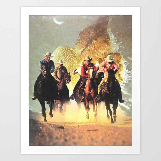 The Rush Art Print