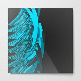 Weird Abstraction Metal Print