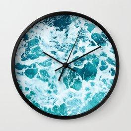 Ocean Splash IV Wall Clock