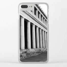 Ancient Agora Clear iPhone Case