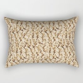 Instant Ramen Noodle Pattern Rectangular Pillow