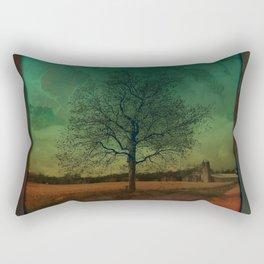 The Surface of Solitude-Effort Rectangular Pillow