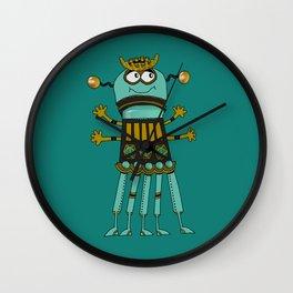 Robot № 225 Wall Clock