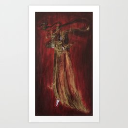 Agnosco Veteris Vestigia Flammae Art Print