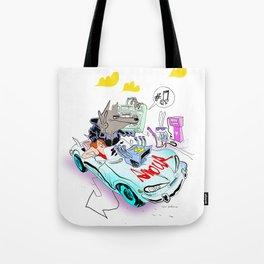 The Love Car Tote Bag