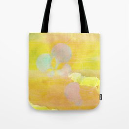 gold clouds and bubbles Tote Bag