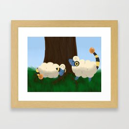 Mareeps At Play Framed Art Print