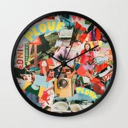 Plouf Plouf Wall Clock