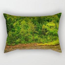 495nm riparian zone Rectangular Pillow