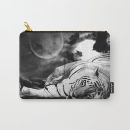 Peace - Tiger & Butterfly Carry-All Pouch
