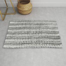Crochet Texture Rug
