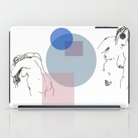 nudes iPad Cases featuring Nudes by B. West
