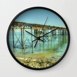 Mumbles Pier Wall Clock