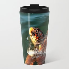 Loggerhead Turtle Travel Mug