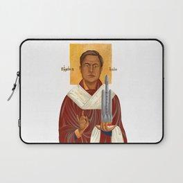 Holy Prophet Elon Musk isolated Laptop Sleeve