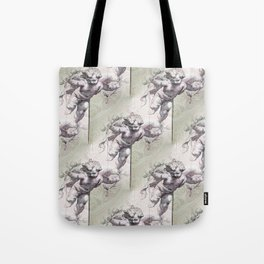 Cherubs & Clockwork Hearts Tote Bag