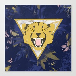 midnight safari Canvas Print