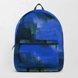 Midnight Forest Abstract 1 Backpack