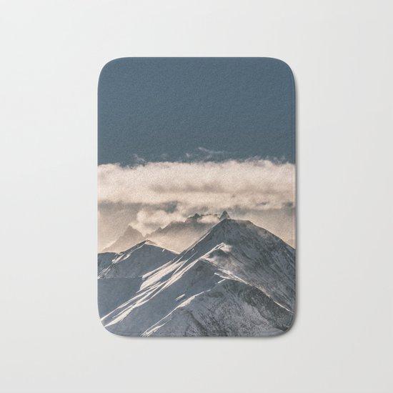 Mountains II #landscape photography Bath Mat