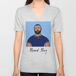 Beard Boy: David Ruiz Unisex V-Neck
