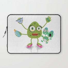 babysitter monster Laptop Sleeve