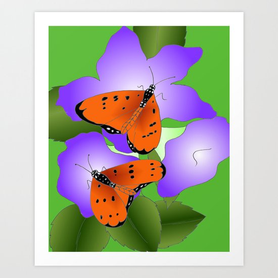 Tawny Coasters Art Print