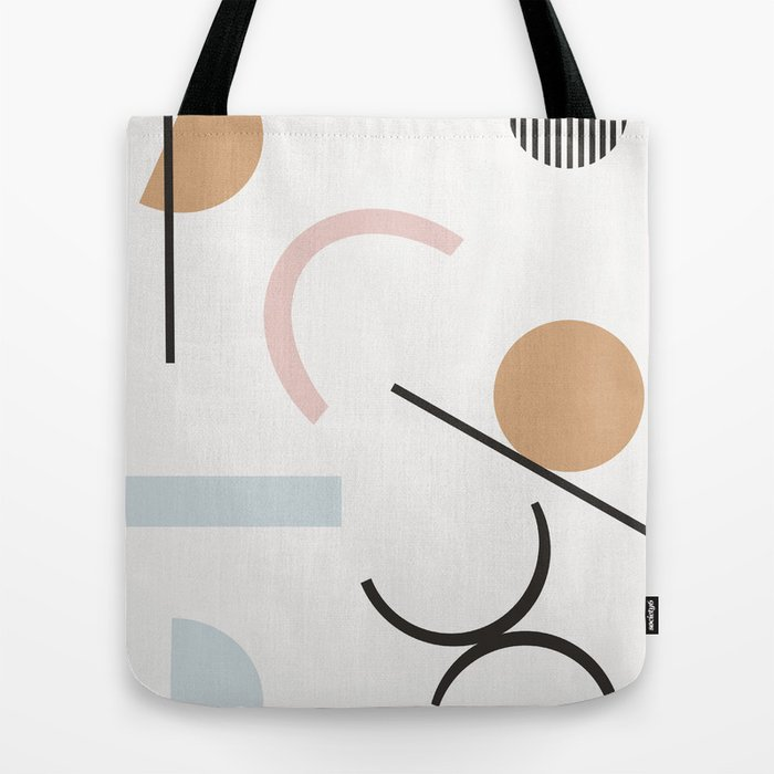 Adelpha - minimal art print, minimal, abstract art print, neutral, earth tones, Tote Bag