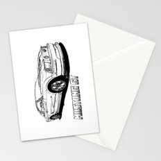 Mustang GT line drawing Stationery Cards