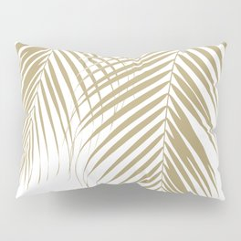 Summer Palm Leaves #1 #tropical #decor #art #society6 Pillow Sham