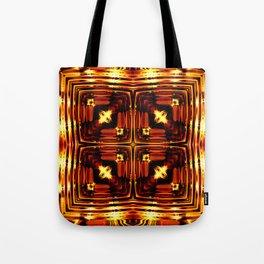Bright golden waves SB6 Tote Bag