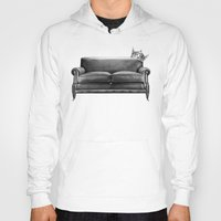 sofa Hoodies featuring Sofa King by sustici