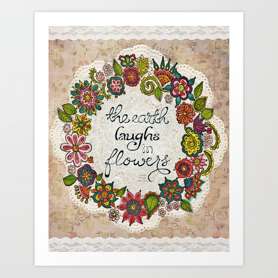 Natural Laughter Art Print