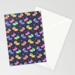 Nightime Unicorns Stationery Cards