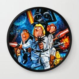 Family Guy Star Wars Parody Wall Clock