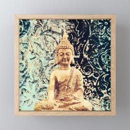 Earth Zen Buddha Framed Mini Art Print