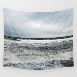 Pounding Surf Wall Tapestry