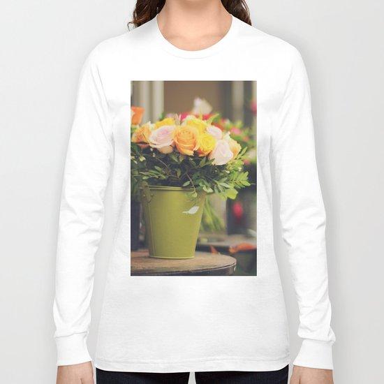 Vintage roses Long Sleeve T-shirt