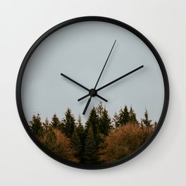 Wild Mountain Thyme Wall Clock