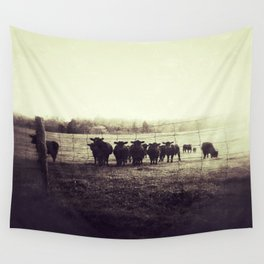 Curious Cows Wall Tapestry