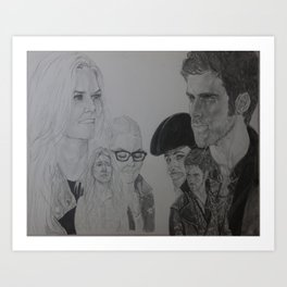 Your Beginnings Art Print