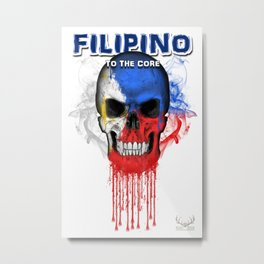 To The Core Collection: Philippines Metal Print