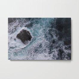 Sea Patterns Metal Print