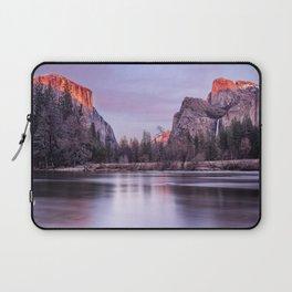 Yosemite National park sunset Laptop Sleeve