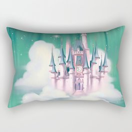 Star Castle In The Clouds Rectangular Pillow