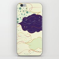 celestial iPhone & iPod Skins featuring Celestial by Grace Anne