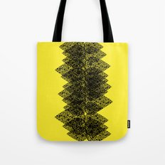 Feathered spine Tote Bag