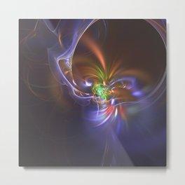 Geometric Cosmic Light 144 Metal Print